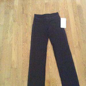 NWT Ivivva size 12 black yoga pants