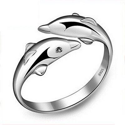 Mode Hämatit Titan Stahl Regenbogen bunte Ringe Hochzeit