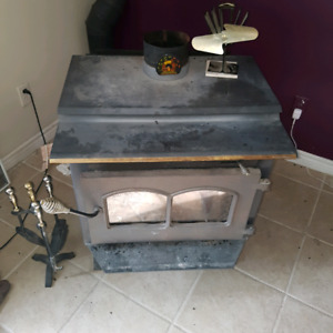 Wood stove fan and accessories