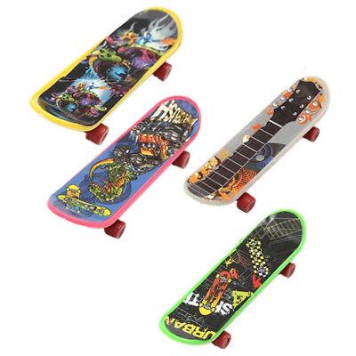 Mini 4 Pack Finger Board Tech Deck Truck Skateboard Toy Gift Kids Gift 95mm L6P8