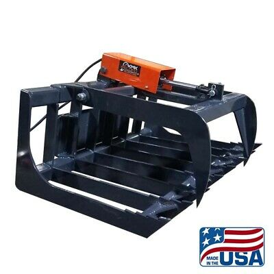 New 36 Mini Skid Steer Grapple Bucketdirt Buckettoro Dingoditch Witchetc
