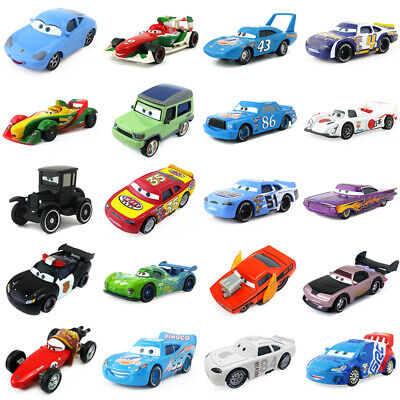 - Disney Pixar Cars 2 & 3 McQueen Racing Family Diecast Toy Car 1:55 Loose  Gifts