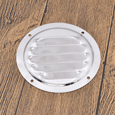 Stainless Steel Round Marine Yacht Vent Cover Louvered Ventilation (Ventilation Accessories)