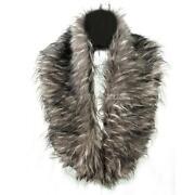 Grey Fur Stole