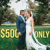 CINEMATIC Wedding Videography and Photography ***$500 only***