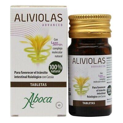 ABOCA ALIVIOLAS ADVANCED 45 TABLETAS CASSIA TRANSITO INTESTINAL