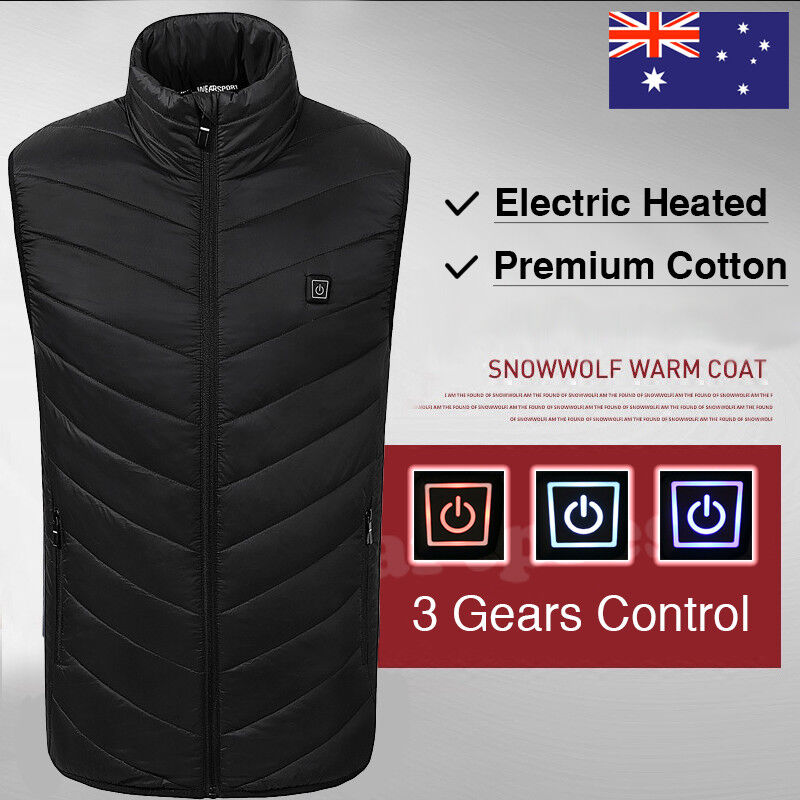 Electric Winter Heated Warm Vest Motorcycle USB Power Bank Mobile Power Bank
