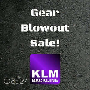 KLM Backline - Gear Blowout Sale