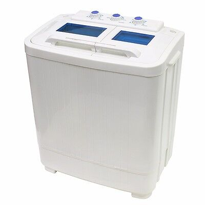 غسالة و مجفف ملابس جديد 8 – 9lb Portable Mini Small RV Dorms Compact Washing Machines Spin Dryer Laundry