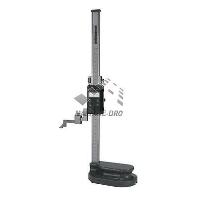 "Height Gauge 300mm 12"" Precision Carbide Scriber Machine-DRO Metric/ Inch Gage"