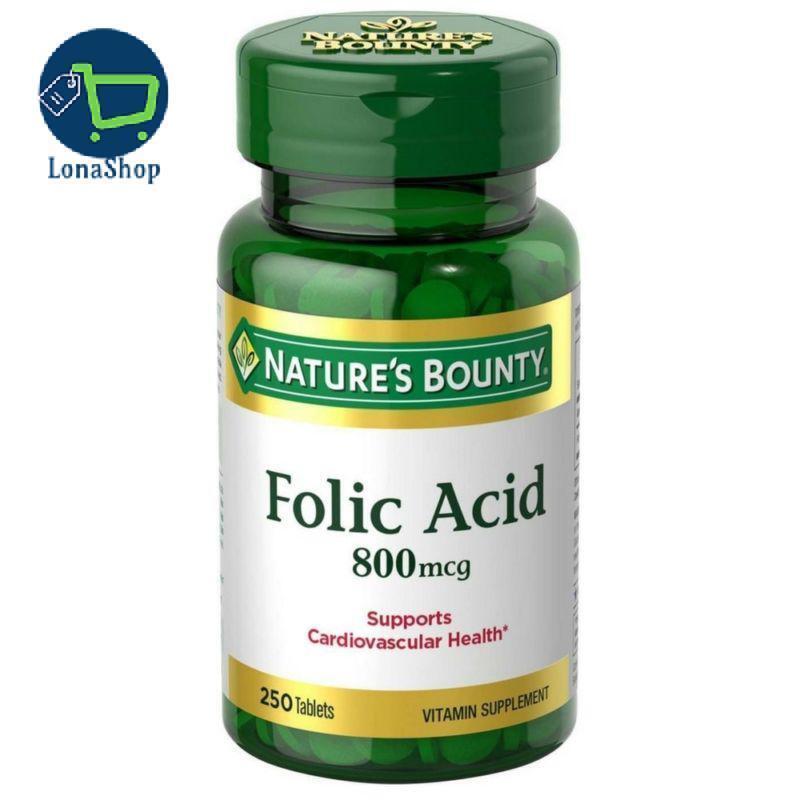 #1 Mejores Pastillas Acido Folico Natural Para Niños Hombres Mujeres Embarazada