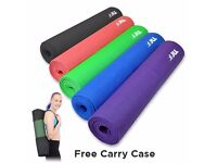 Yoga Mat and Free Carry Case Slip Resistant | Daddy Supplements
