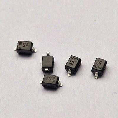 100pcs B5819ws 1a40v 1n5819 S4 Sod-323 Smd Schottky Diodes