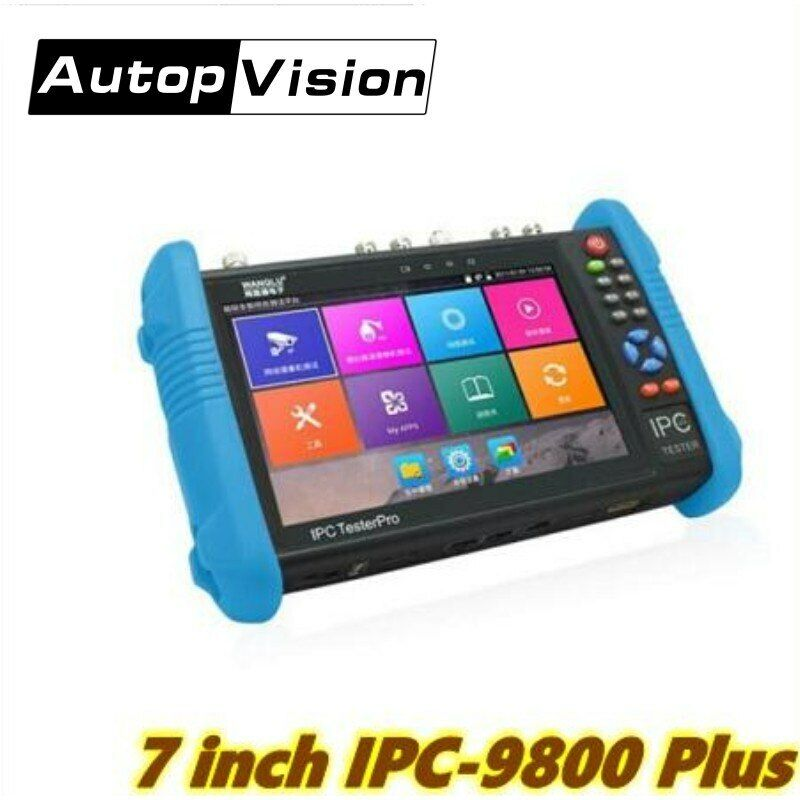 4K H.265/H.264 CCTV Tester Monitor 8MP CVI TVI AHD SDI analog IP camera tester