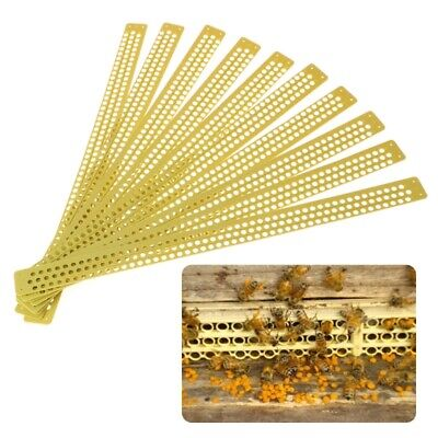 10 Pcsbag Pollen Trap Catcher Beekeeping Apiculture Tools Entrance Equipments