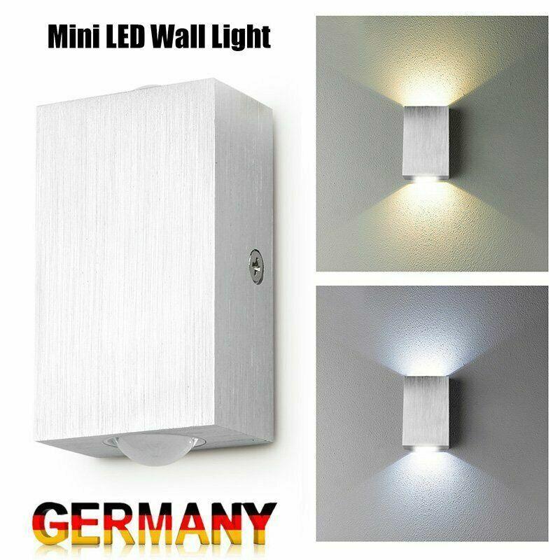 Moderne Wandleuchte LED Wandlampe Flurlampe Treppenleuchte Up Down Effekt