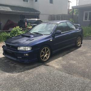 2001 Subaru Impreza 2.5rs Coupe WRX swap