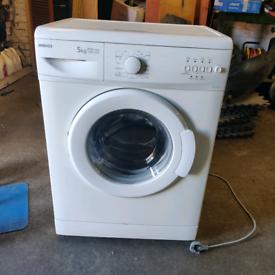 Beko 5 kg A* efficiency rating space saving washing machine WM5100W go