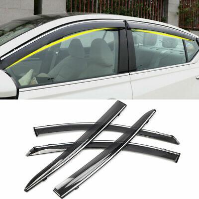 4-Door Window Sun Visor Rain Guard Deflector Shade 4pcs For Nissan Altima 2019
