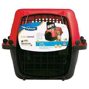 Two Door 19 inch Pet Carrier for Pets up to 10lbs