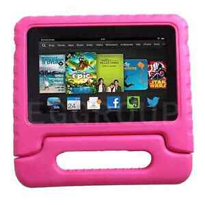 Kids Safe Carry Heavy Duty Shockproof Rubber IPad Cover