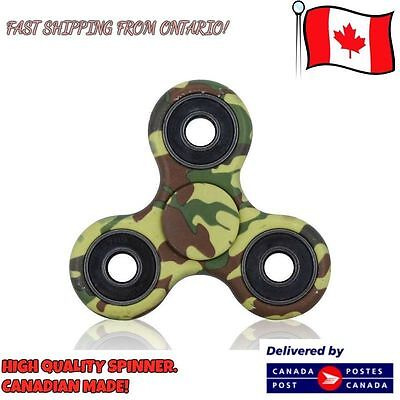 Fidget Spinner Hand Tri-Spinner Camouflage Multicolors,Stress Reducer EDC Focus