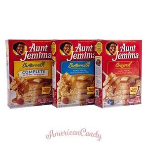 1x-907g-Aunt-Jemima-EE-UU-Pancake-amp-Waffle-Mezcla-8-81-kg