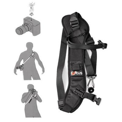 Quick Rapid Single Shoulder Sling Focus F-1 Belt Strap for Camera SLR DSLR