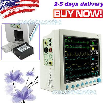 Fda Ce Monitoring Icu Ccu Patient Monitor Vital Signs Monitor Us Multi-parameter