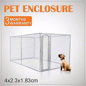 4 X 2.3M DOG KENNEL RUN ANIMAL FENCING FENCE PET ENCLOSUR Dandenong South Greater Dandenong Preview