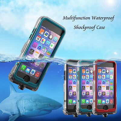 Swimming Waterproof Shockproof Phone Case Full Body Cover For iPhone 6 7 8 Plus