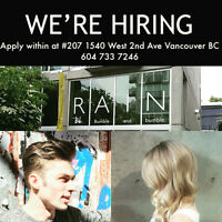 Become apart of our Hair Family Dedicated to creating the Trends