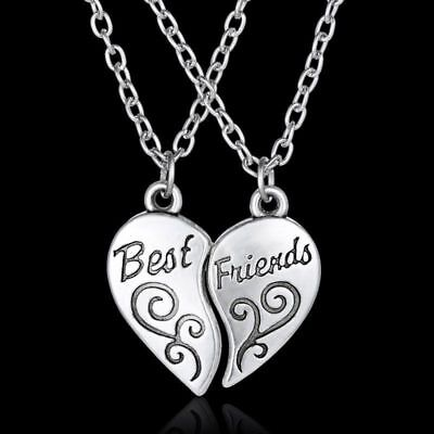 2019 Hot Silver Friendship Love Heart