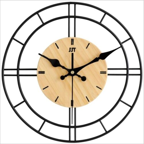 2021 Metal / Modern LARGE WALL CLOCK Creative / Excellent for Wall