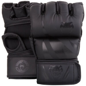 Venum Challenger MMA Gloves - Without Thumb - M, Black/Black