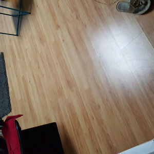 Flooring with underlay