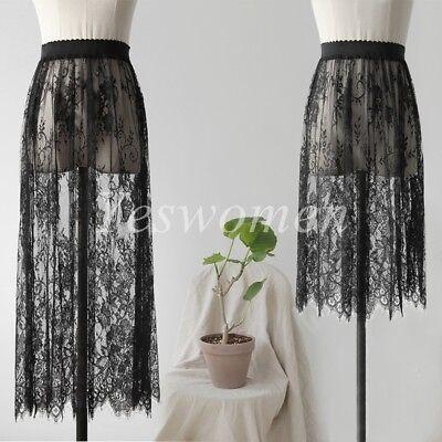 Women Half Slips Lace Extender Half Slip Skirt Slip Dress Underskirt - Lace Petticoat