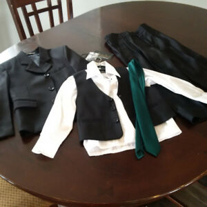 5 Piece Black Suit - Size 5