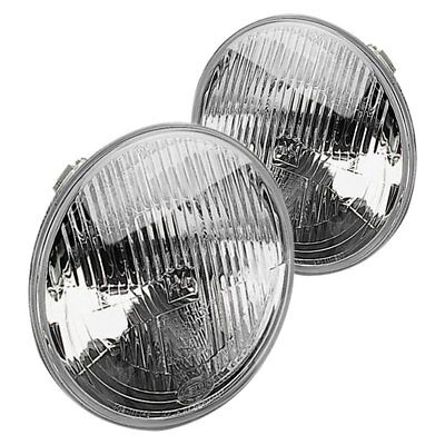 """For Ford F-150 75-79 Headlight 7"""" Round Chrome Vision Plus Factory Style"""