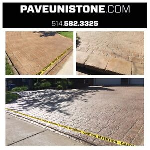 DRIVEWAY CLEANING-HIGH PRESSURE CLEANING & MAINTENANCE OF PAVERS West Island Greater Montréal image 3