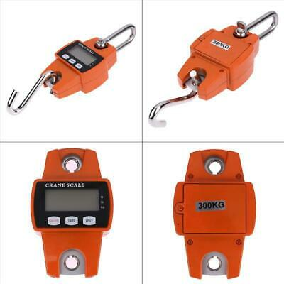 Mini Crane Scale 300kg660lbs Industrial Hook Hanging Weight Digital Lcd Home Up