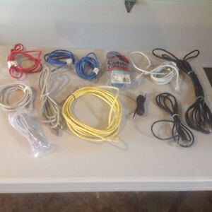 Computer Ethernet / Telephone Cables for sale