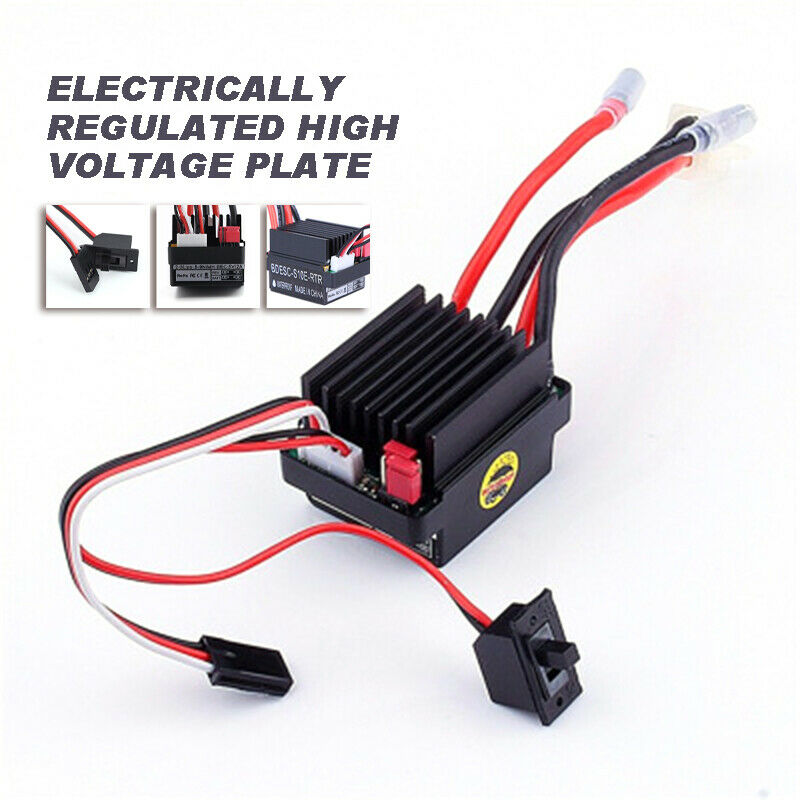 waterproof 320a brushed esc electronic speed controller