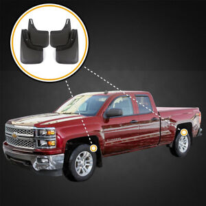 2014-2016 Chevy Silverado Mud Flaps/Splash Guards
