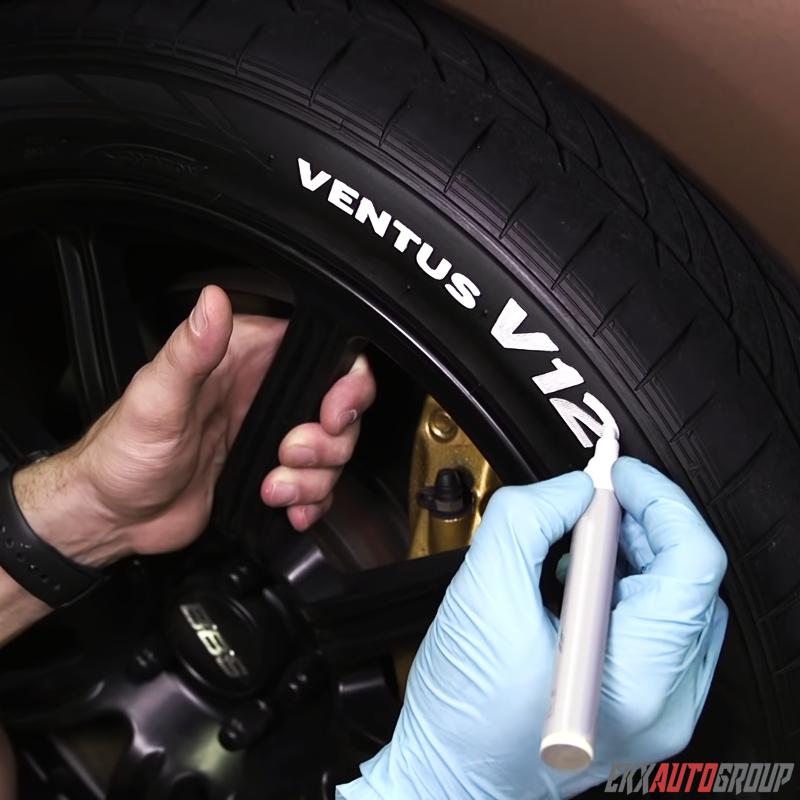 TOYO Waterproof Permanent Paint Marker Pen Car Tyre Tire Let