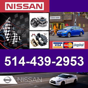 Nissan Sentra ► Bearings, Calipers • Roulements, Étriers