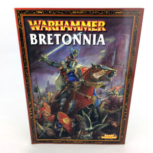 Warhammer 40K Bretonnia Armies Book 6th 7th Ed Games Workshop