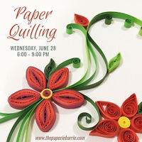 Workshop: Intro to Paper Quilling
