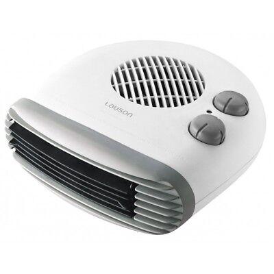 Calefactor Termoventilador 2 potencias 1000w/2000w Termostato Lauson
