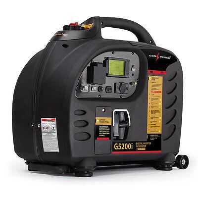 GENPOWER 2.7kVA Max 2.5kVA Rated Generator Inverter Petrol Portable Camping